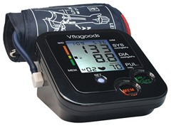 Digital Pulse Desktop Blood Pressure Monitor - Black