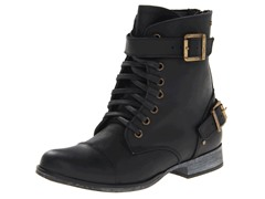 Sargeant Boot, Black Leather