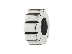 Sterling Silver Spacer w/ Lines