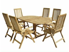 7-Piece Teak Dining Set