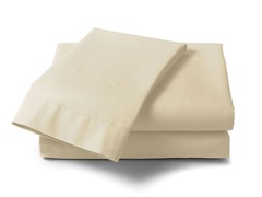 1000 Thread Count Cotton Sateen Sheet Set - Champagne