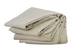 Microfiber Sheet Set: Beige (Multiple Sizes)