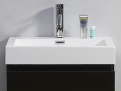 "24"" Zuri: Single Sink Bathroom Vanity- Wenge"