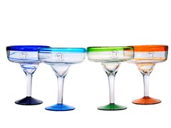 Baja Margarita Glasses - Set of 4
