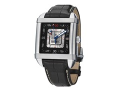 Men's Paramount Square Silver/Black
