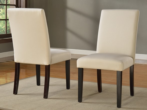 Sadie Slipcover Parsons Chair Set Of 2