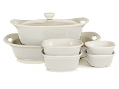 CorningWare 7-Pc Set - White Linen