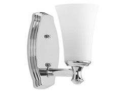 Bathroom Sconce, Polished Chrome