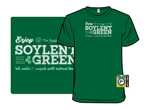 Vintage Soylent Green T Shirt fc0d243f-2b4e-4b7b-bee5-3e8f6318f2f4