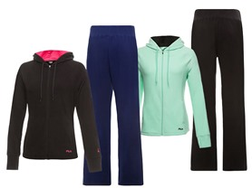 Fila Women's Comfy Jackets and Pants
