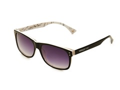 Versace Sunglasses, Black/White