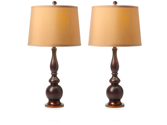 wilson table lamp 2 pack with shades With table lamp 2 pack with shades