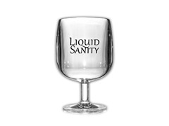 Acrylic Wine Glasses, 8-Ounce, 4-Pack