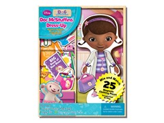 Disney Doc McStuffins 25 Piece Wood Magnetic Doll