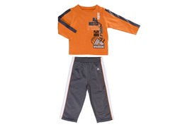 Orange  Toddler 2-Pc Set (2T-5T)
