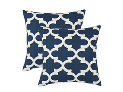 Fynn 17x17 Pillows - Cadet - Set of 2