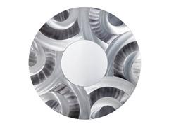 Hendrix  Mirror - Brushed Aluminum