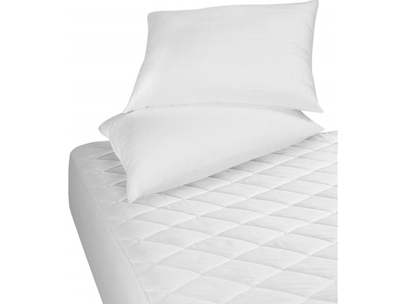 Image of Quilted Hypoallergenic Mattress Pad