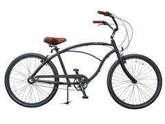 EVRYCruise Man Alloy 3-Speed, Black