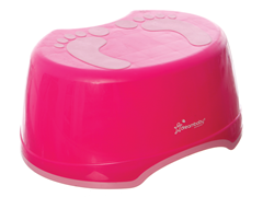 Dreambaby Pink Footprint Step Stool