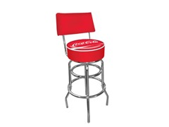 Pub Stool with Back Coca-Cola®