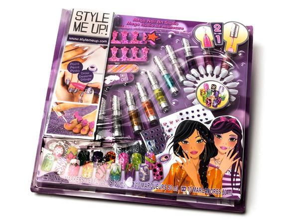 Style Me Up Nail Art Kit Yamsixteen