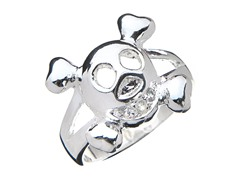 Sterling Silver Caravel Ring