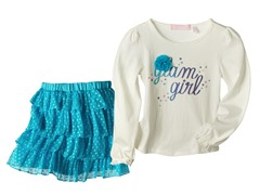 Top & Skirt Set - Glam Girl (4-6X)