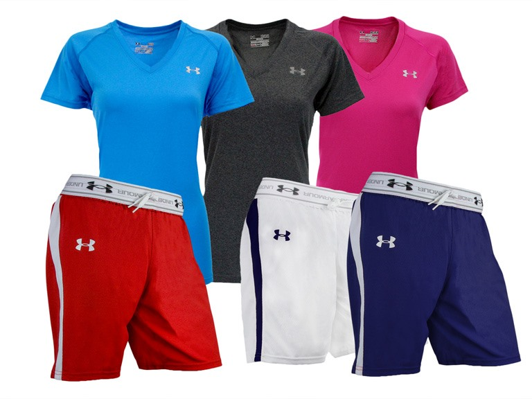 Under Armour Women's Shorts & Tees