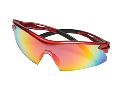 Safety Works Racer Red Safety Glasses