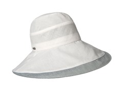 Delphinium Fashion Sun Hat, White