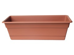 Plant Window Box, 30-Inch, Terra Cotta