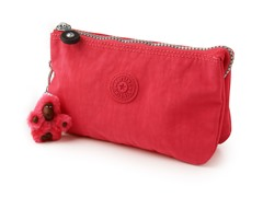 Kipling Creativity Small Pouch, Vibrant Pink