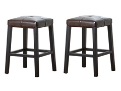 "Set of 2: 24"" Counter Stool (2-Colors)"