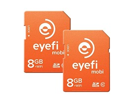 Eyefi Mobi 8GB Wi-Fi SDHC Card - 2 Pack