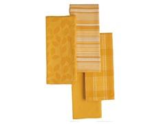 Basics Dishtowels-Set of 4-Daffodil