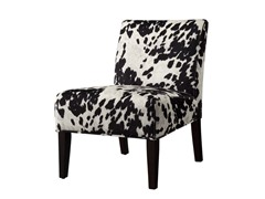Black Cow Lounge Chair
