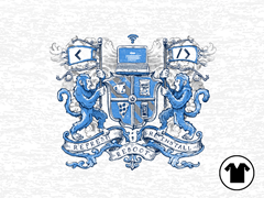 Code of Arms V-Neck Tee