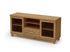 "Adrian TV Stand 60""tv Harvest Maple"