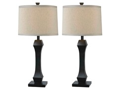 Exeter 2 Pack Table Lamp