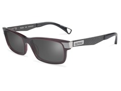 T307 Polarized Sunglasses, Burgundy