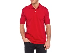 Reebok Platinum Pique Polo - Red (S)