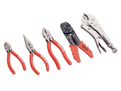 5-Piece Utility Pliers Set