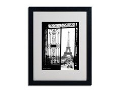 Sally Gall Views of Paris Framed Art