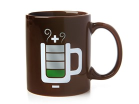 Coffee Levels Critical Mug