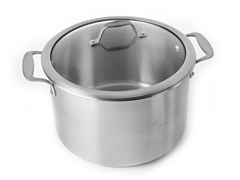 12-Quart Covered Stock Pot