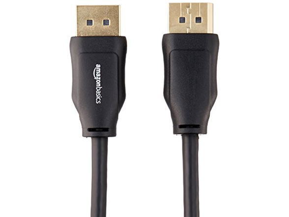 AmazonBasics DisplayPort Cable - 3 Feet