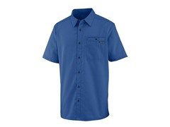 Men's Caymen Short Sleeve Shirt - Blue