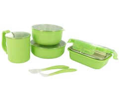 Onbi Baby Meals On The Go Feeding Set