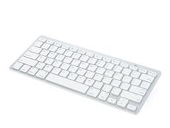 Ultra-Slim Bluetooth Keyboard - Silver